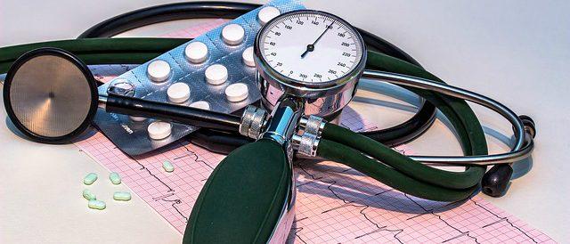 Stethoscoop en bloeddrukmeter